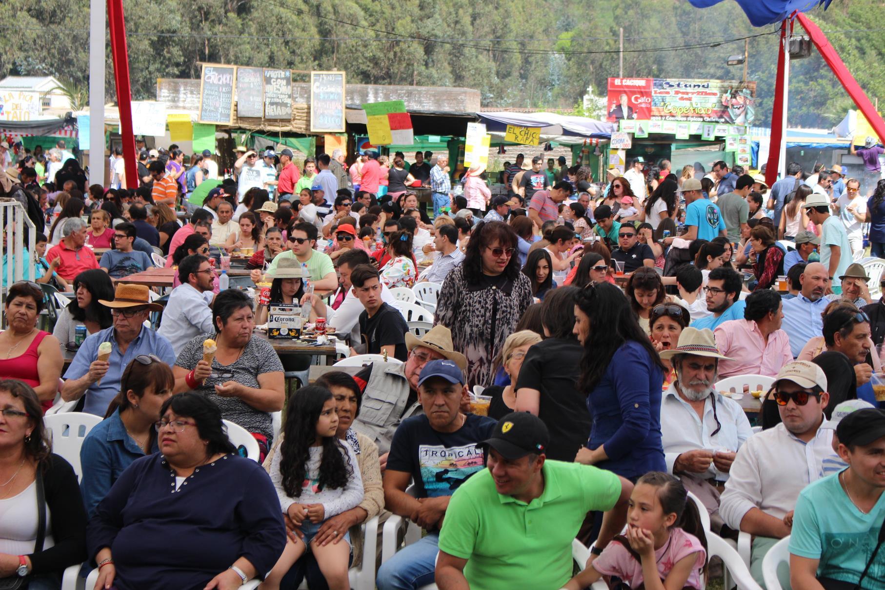Fiesta Ruedas de Larmahue 2017 en Pichidegua